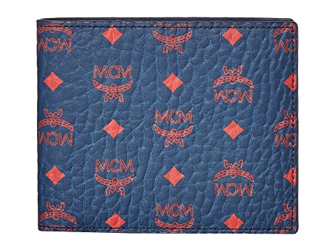 MCM Visetos Original Flap Wallet/Two-Fold Small