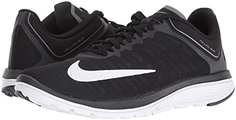 Men's Nike FS Lite Run 3 Black/Blue/Org Shoe Carnival