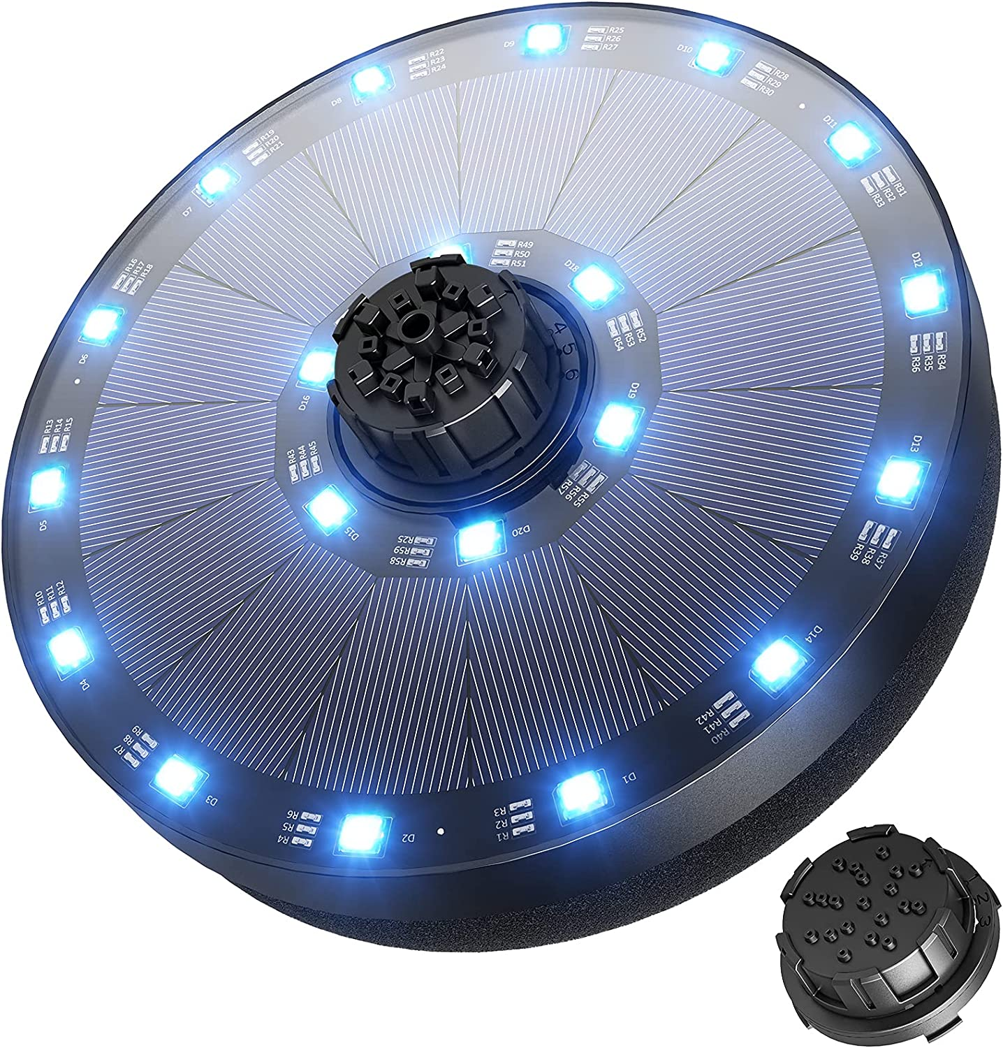 Max 72% OFF OKMEE Solar Fountain Upgraded Super sale period limited 4-in-1 LED 3.5W Powe Nozzle