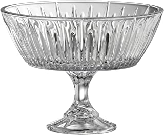 Galway Crystal Willow Footed Bowl, Transparent