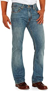 527 Slim Boot Cut Jeans in Medium Chipped Medium Chipped 42