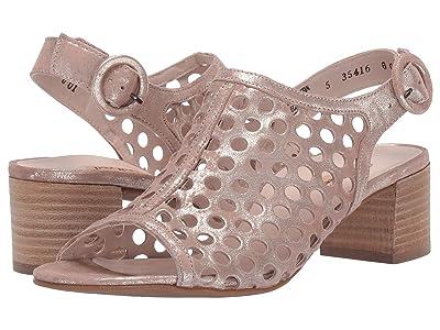 Paul Green Tico Heel (Blush Antique Metallic) Women