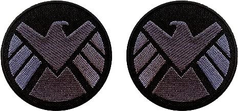 AVENGERS Movie SHIELD Logo Costume Shoulder Patch Set of 2