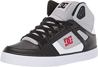 DC Mens ADYS400043 Pure High-top Wc Grey Size: 10.5
