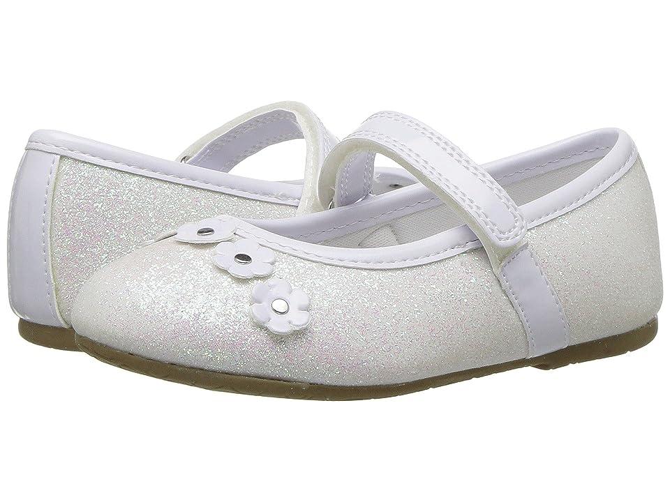 Rachel Kids Lil Madeline (Toddler) (White Glitter) Girl