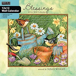 WSBL Blessings 2022 12X12 Wall Calendar (22997001736)