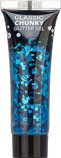 Classic Chunky Glitter Gel by Moon Glitter - 12ml - Blue - Glitter Face Paint