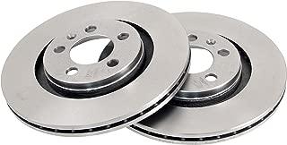Ate 24.0113-0161.1 Rotores de Discos de Frenos Set de 2