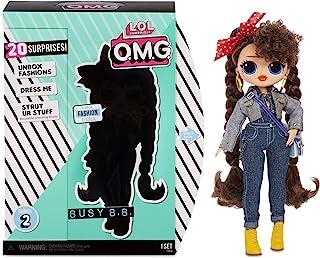 L.O.L. Surprise! 565116E7C O.M.G. Busy B.B. Fashion Doll with 20 Surprises