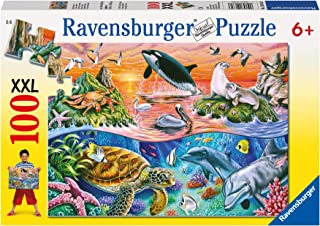 Ravensburger Beautiful Ocean Puzzle 100pc,Children's Puzzles