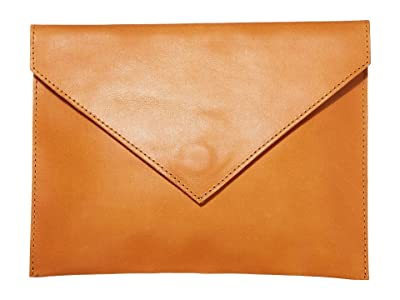 ABLE Solome Clutch (Cognac) Handbags