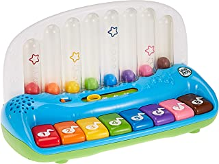Leapfrog Baby Electronic Pop & Play Learning Musical Piano - Bilingual Music Keyboard, Multi Color