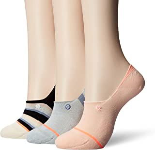 STANCE Women's Back to Basic Invisible 3 Pack Socks