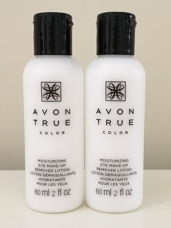 Set of 2 Avon Moisture Effective Eye Makeup Remover Lotion, 60 ml/ 2 fl oz each : Beauty