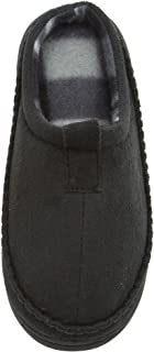 Skysole Boys Microsuede Clog Slipper Rugged Outsole