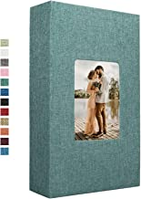 آلبوم عکس کتانی وایروس 300 جیب برای عکسهای 4x6 جلد پارچه کتابهای عکس آلبوم های تصویری لغزنده خانواده عروسی