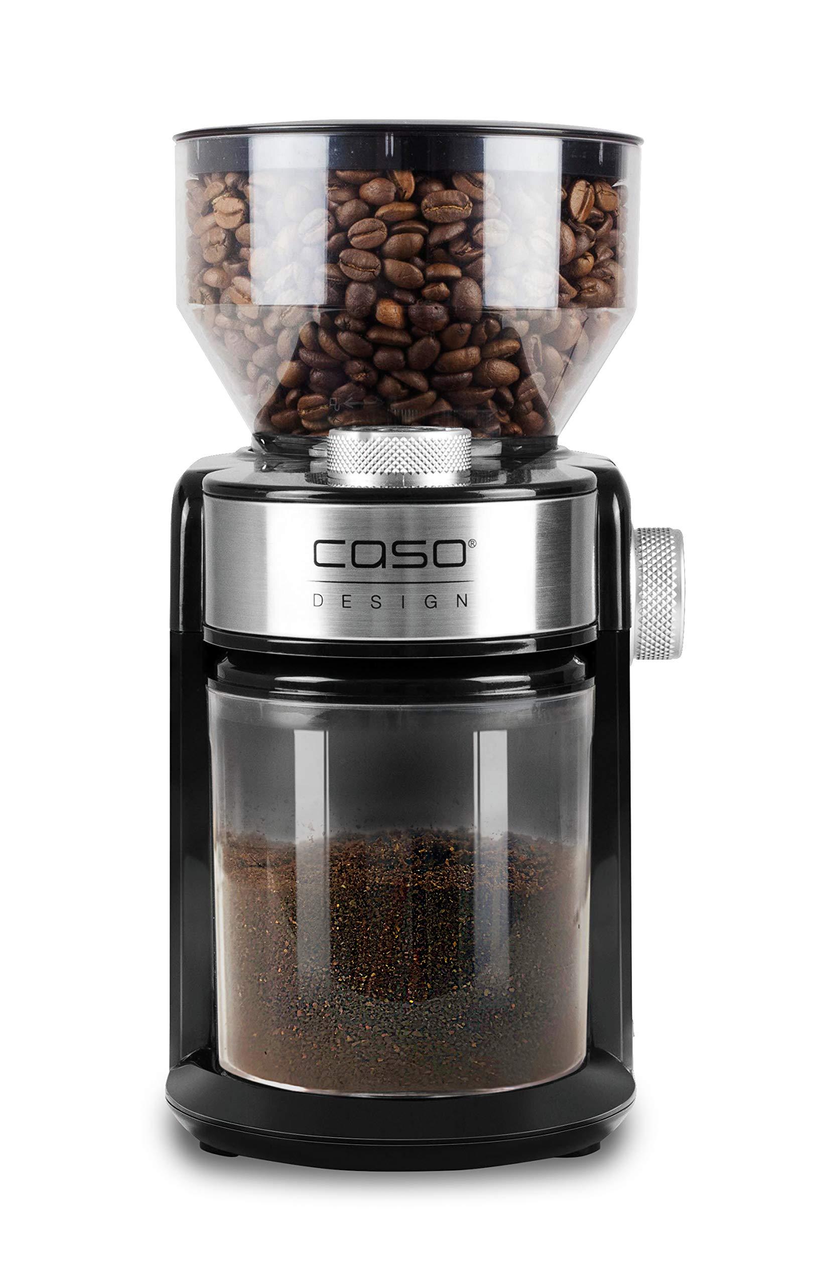CASO Barista Crema – Molinillo de café eléctrico de diseño, ajuste ...