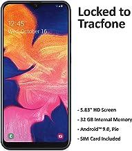 Tracfone Samsung Galaxy A10e 4G LTE Prepaid Smartphone (Locked) - Black - 32GB - SIM Card Included - CDMA