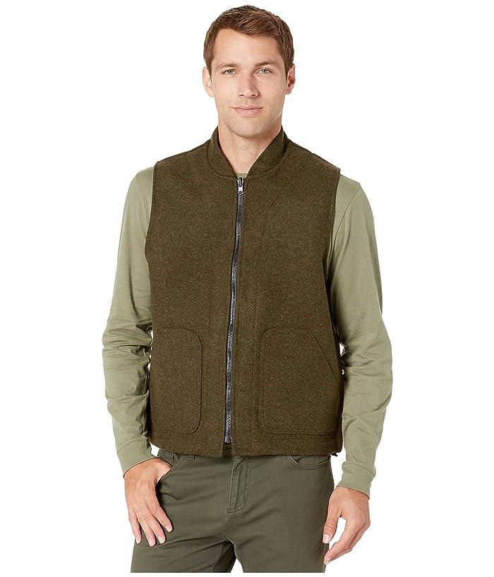 Men's Vintage Workwear – 1920s, 1930s, 1940s, 1950s Filson Wool Vest Liner Forest Green Mens Vest $175.00 AT vintagedancer.com