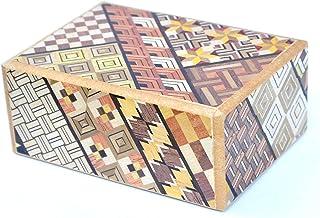 LOGICA GIOCHI Art. Cofre YOSEGI - La Caja Secreta - Rompecabezas de Madera - Caja Japonesa - 12 etapas
