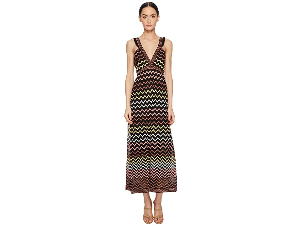 M Missoni Lurex Zigzag Maxi (Black) Women