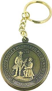 Gemelolandia Llavero Moneda homenaje Blas de Lezo | Para Guardar y Tener recogidas las Llaves | Porta llaves Original y Pr...
