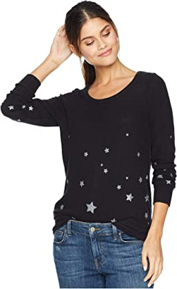 Love Knit Long Sleeve Basic Pullover