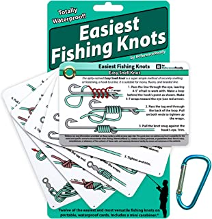 ReferenceReady Easiest Fishing Knots - Waterproof Guide...