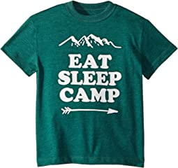 Super Soft Eat Sleep Camp Tee (Toddler/Little Kids)