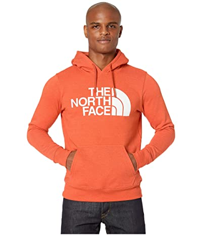 The North Face Half Dome Pullover Hoodie (Papaya Orange Heather) Men