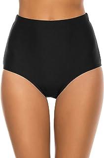 Bonneuitbebe Women's Bathing Suit Bottoms High Waisted Bikini Bottoms Full Coverage Swimsuit Shorts Swim Briefs