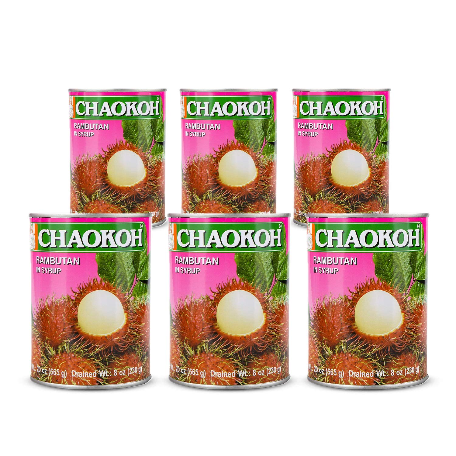 Chaokoh Rambutan in Syrup 6 Total quality assurance of Pack Sales results No. 1 120oz