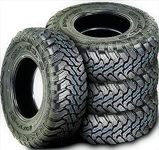 Set of 4 (FOUR) Accelera M/T-01 Mud Tires-LT235/75R15 104/101Q LRC 6-Ply