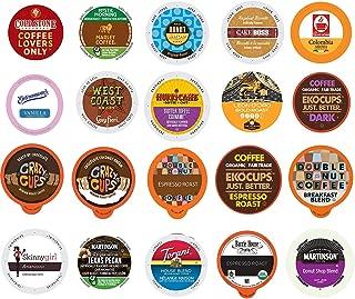 Coffee Variety Sampler Pack for Keurig K-Cup Brewers (Coffee, 20)