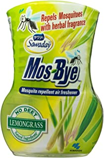 Sawaday Mos-Bye Mosquito Repellent Air Freshener, Lemongrass, 275 ml