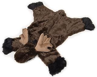 Carstens, Inc Plush Moose Animal Rug, Small