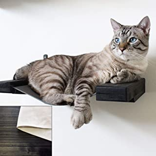 CatastrophiCreations Cat Hammock Lounger Handcrafted Wall-Mounted Cat Furniture