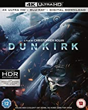 Dunkirk [4K UHD + Digital Download] [Blu-ray] [2017] [Region Free]