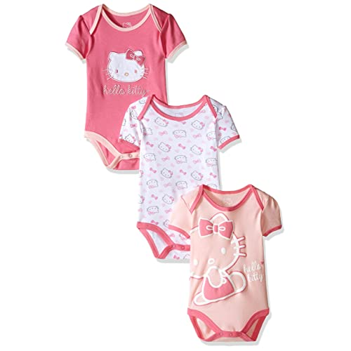 a9ee5fe1f Hello Kitty Baby Girls' Multi Pack Bodysuits