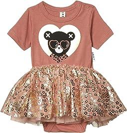 Heart Bear Ballet One-Piece (Infant)