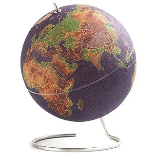 Suck UK LARGE DESKTOP CORK PUSH PINS INCLUDED | EDUCATIONAL WORLD MAP | TRAVEL ACCESSORIES | ADVENTURE & MEMORIES DISPLAY...