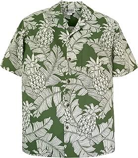 Pineapples Men's Hawaiian Shirt – Made in Hawaii USA