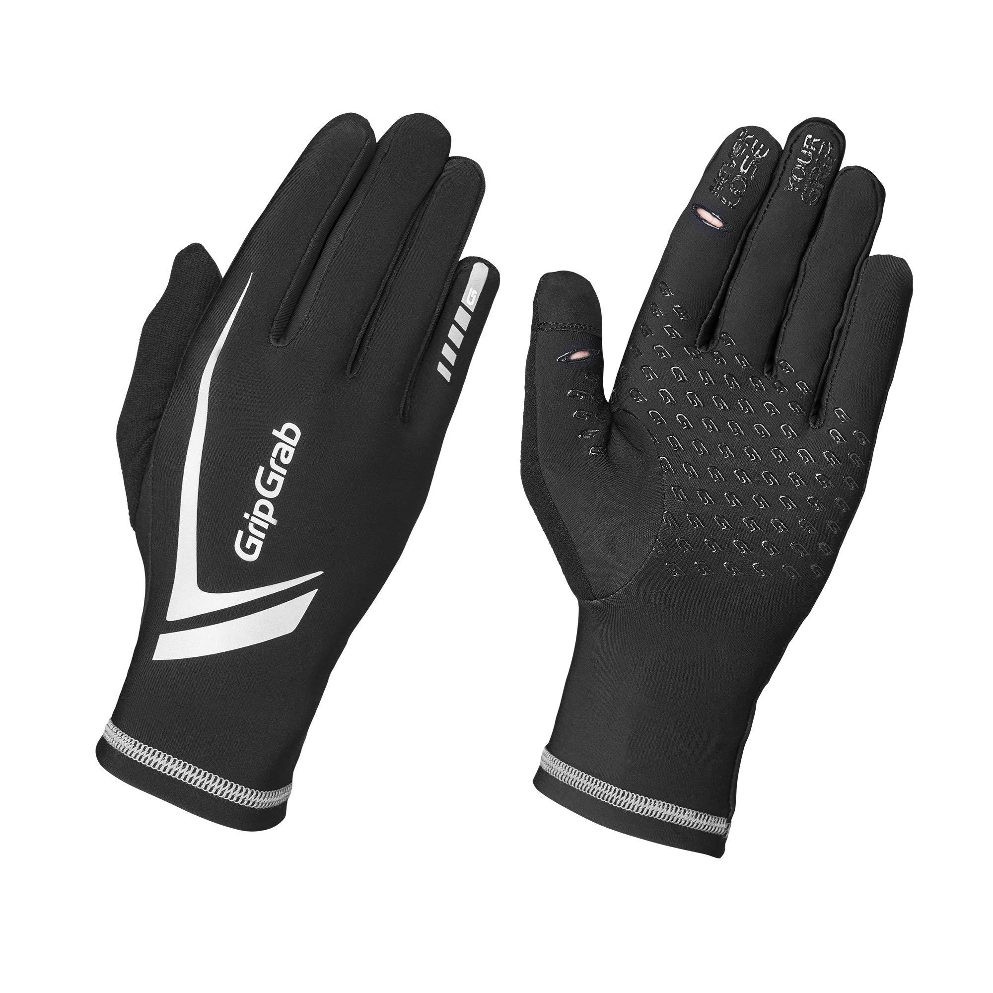 GripGrab Unisex– Erwachsene Running Expert Vollfinger Winter Touchscreen Lau