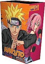 Naruto Box Set 3: Volumes 49-72 with Premium
