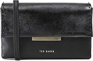 Ted Baker Women's Daphhne Leather Metal Bar Belt Bag Black