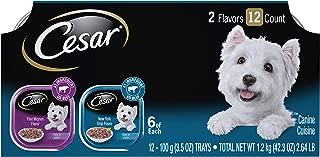 Cesar Gourmet Wet Dog Food Variety Packs - 12 Trays