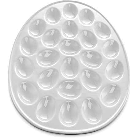 Clear Chef Buddy Deviled Egg Tray 1.875x10.875x10.875 Single Расk