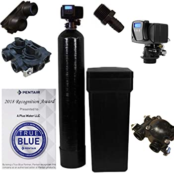 Pentair WS48-56sxt10 Fleck water softener, Black