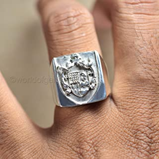 925 sterling silver, family crest ring, personalized ring, metaphysical ring, handmade jewelry, father's day gift ring, birthday gift ring, healing power ring, thanksgiving ring, gift for men ring