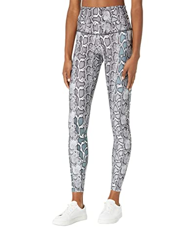 Onzie Henna High-Rise Graphic Leggings (Black/White Viper) Women